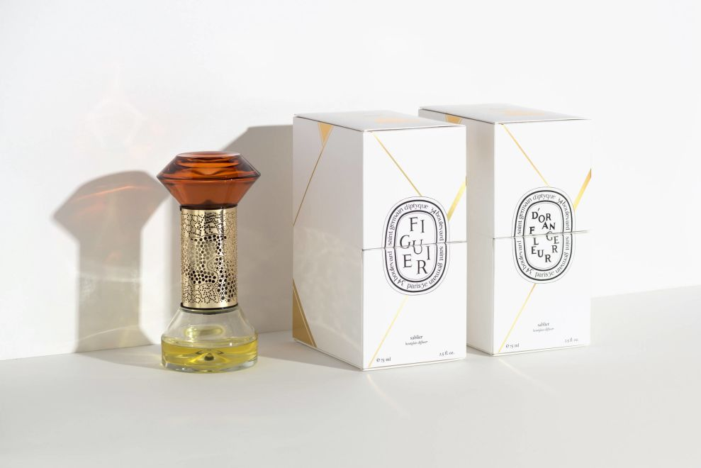 Diptyque Hourglass Diffuser And Box