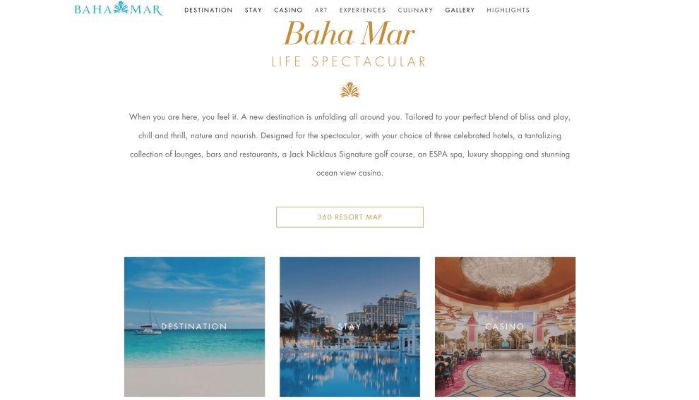 Baha Mar Homepage