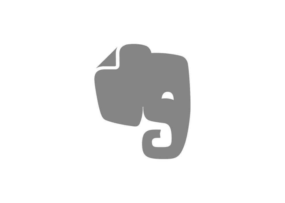Evernote Responsive Logo Design
