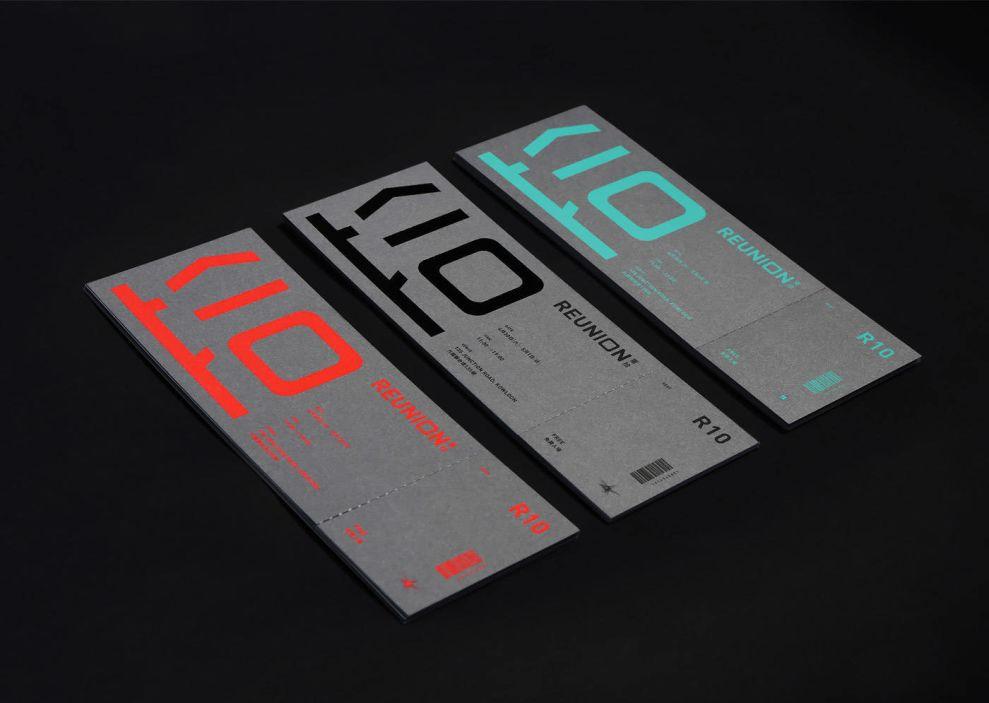 Reunion Print Design Invitations