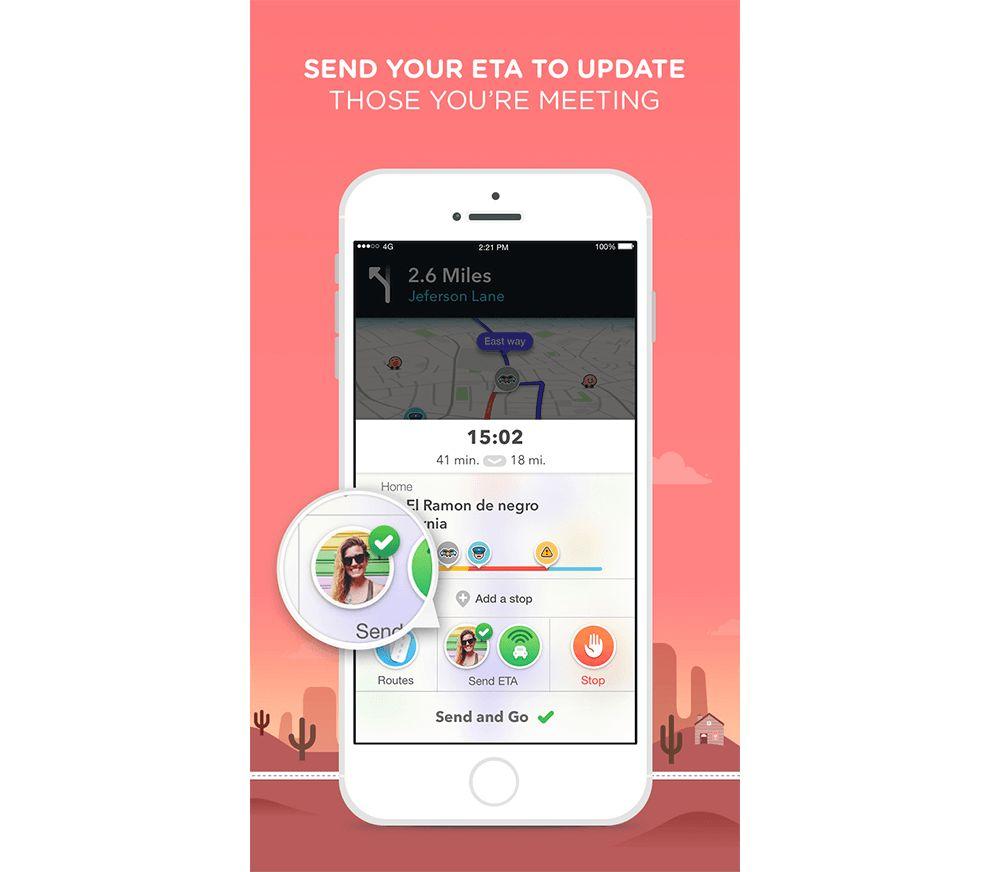 Waze App Design ETA