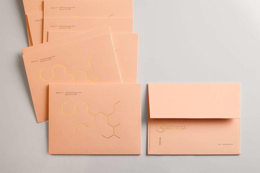 MD Aesthetica Print Design Envelopes