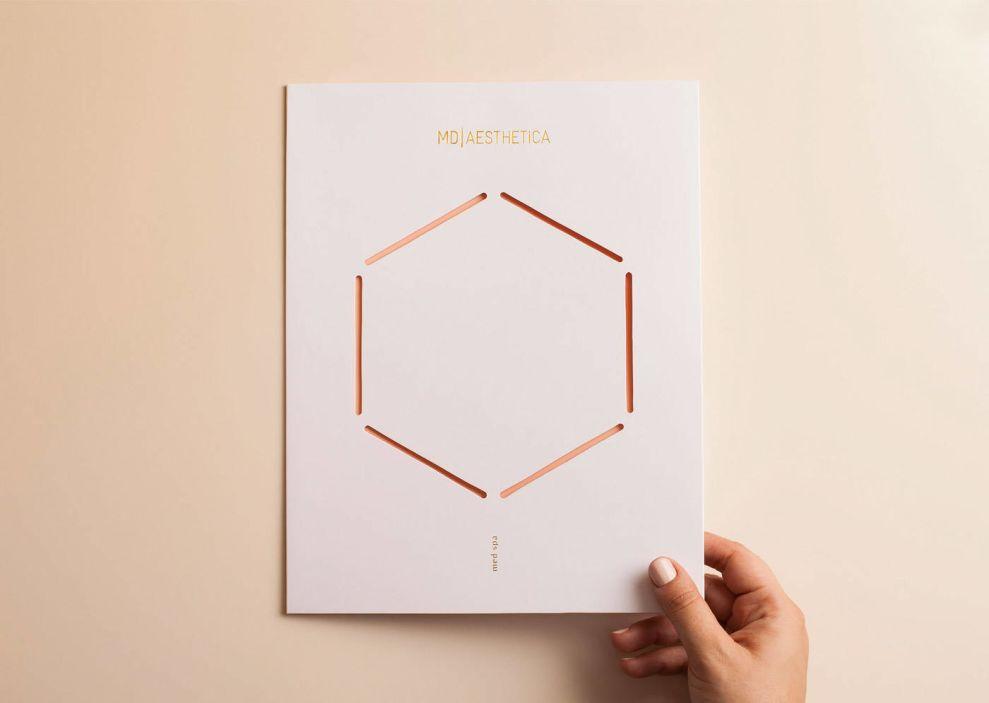 MD Aesthetica Print Design Card