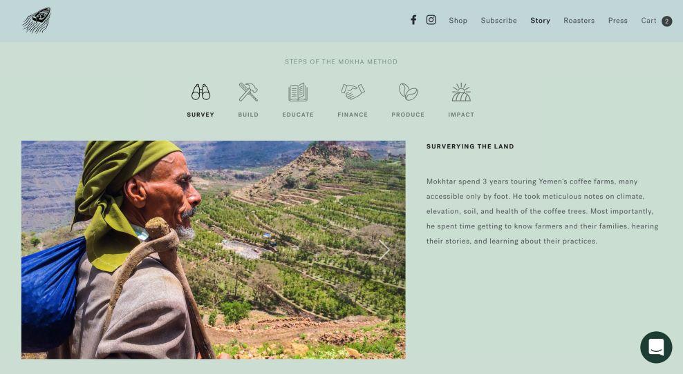 Port of Mokha Top Website