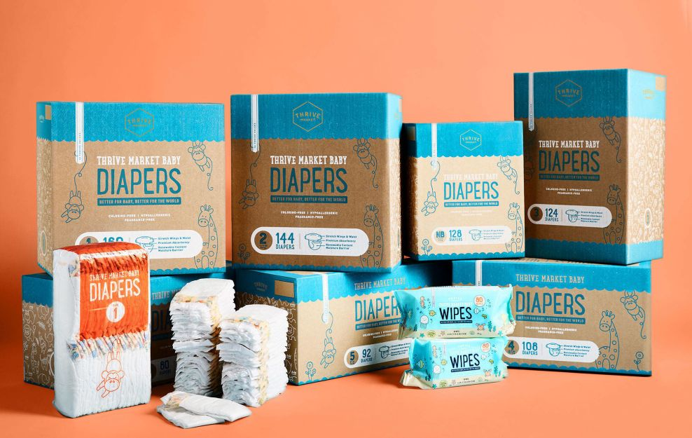 Thrive Market Product Line Package Design