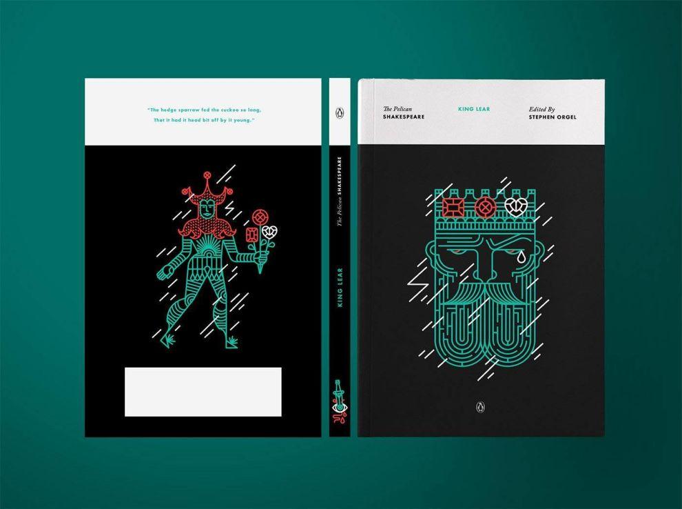 King Lear Print Design