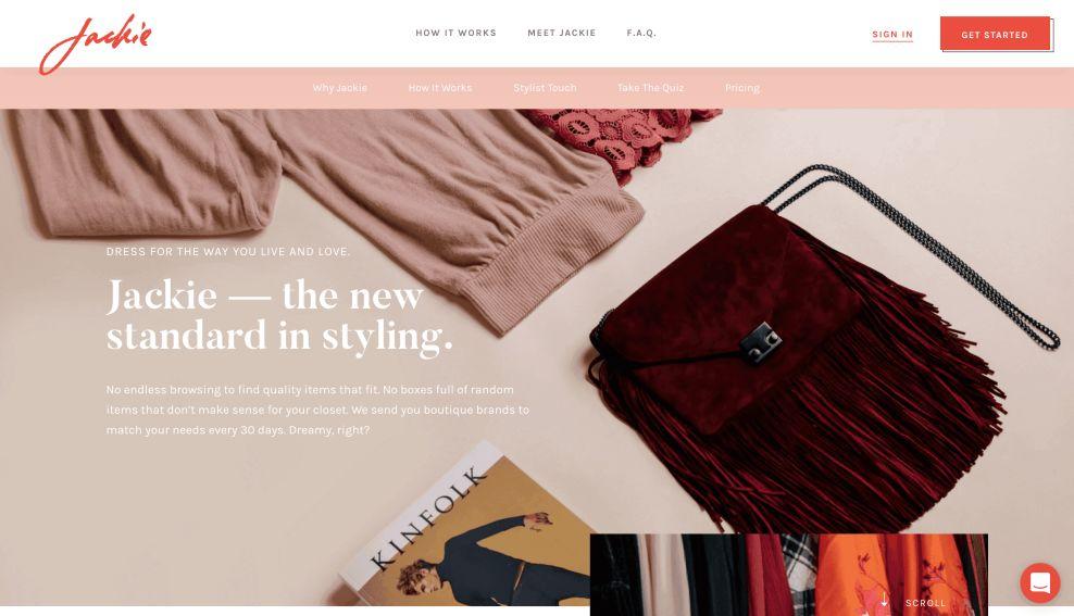 Jackie About Website Design