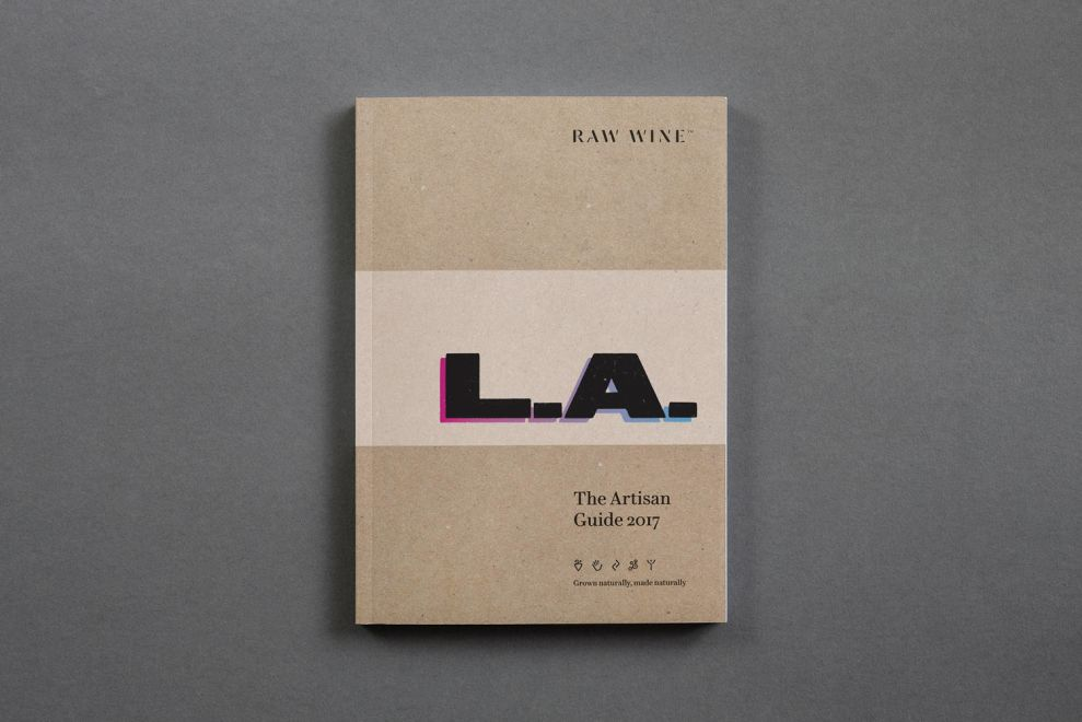 Raw Wine Pamphlet Cover Print Designs