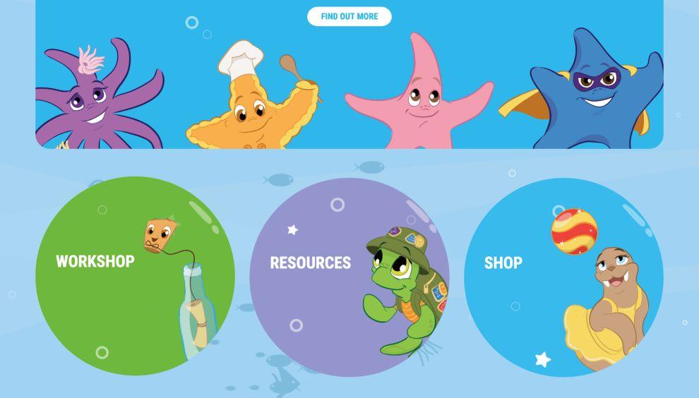 The Magic Coat Resources Page Website Design