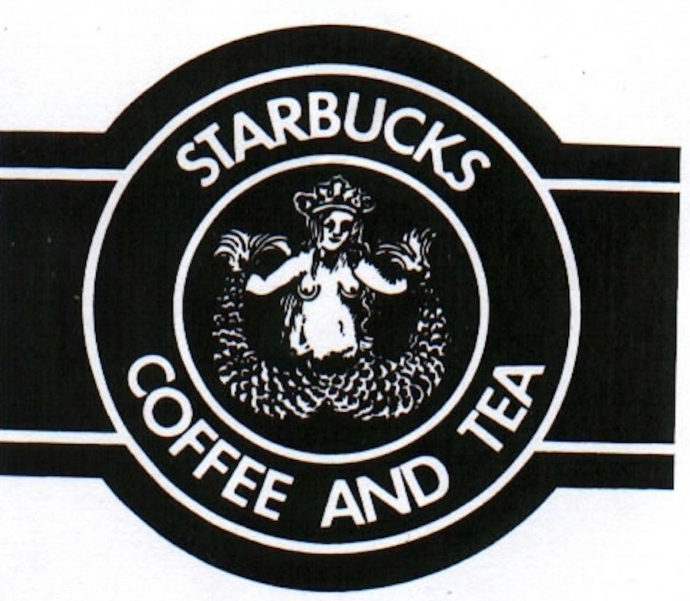 Starbucks Old Logo Design