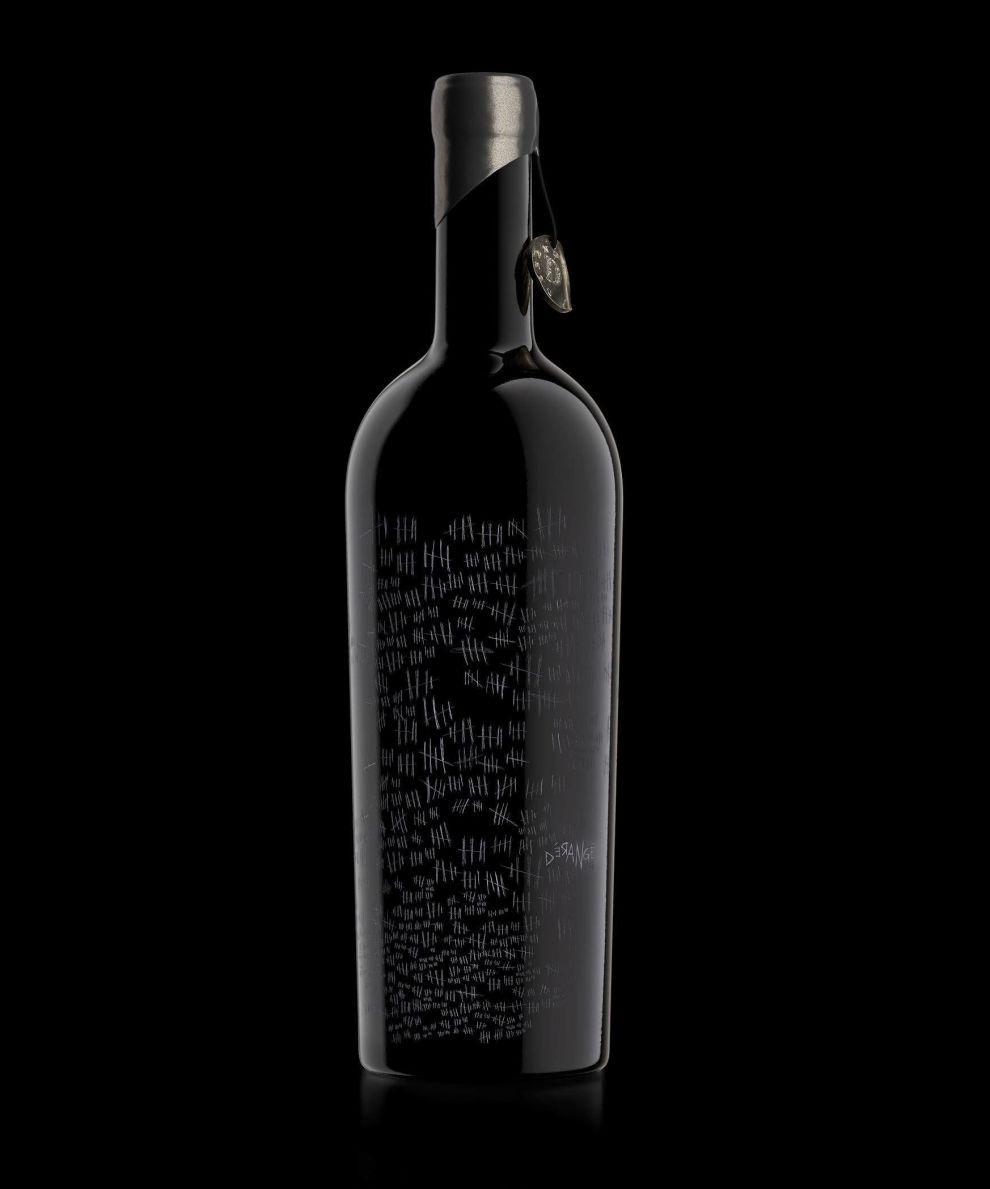 The Prisoner Derange Black Package Design