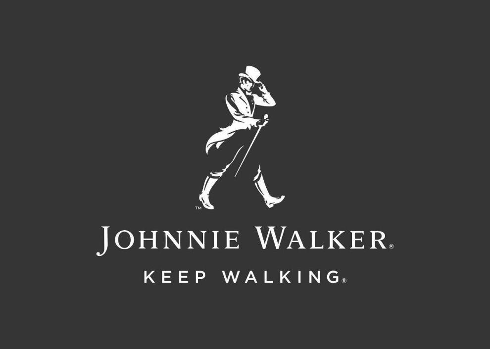 Johnnie Walker Shaded Logo Design