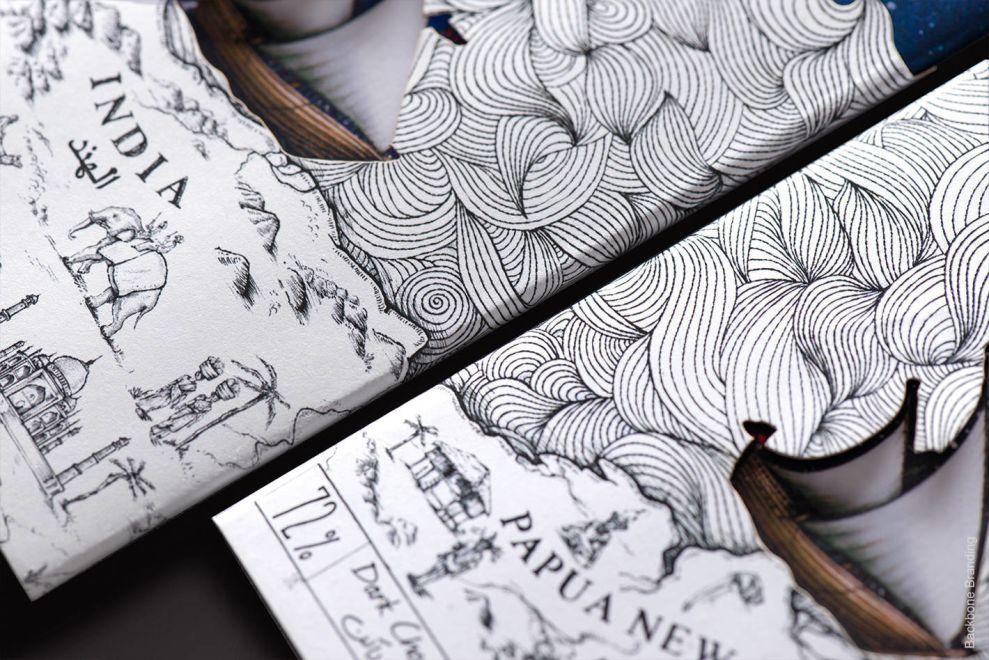 Mirzam Chocolate Bar Closeup Print Designs