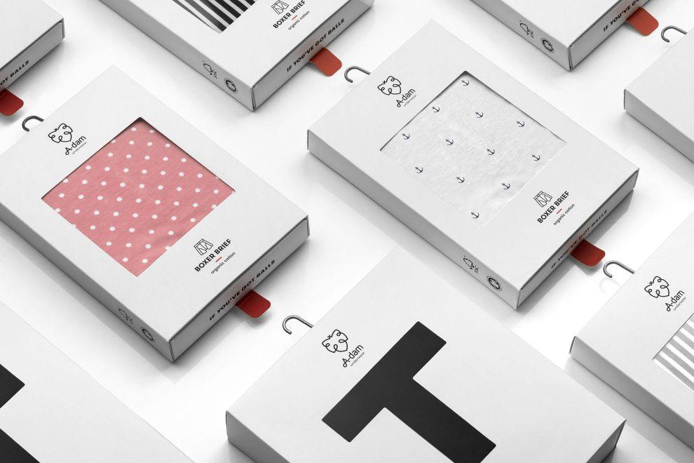 A-dam Box Package Design