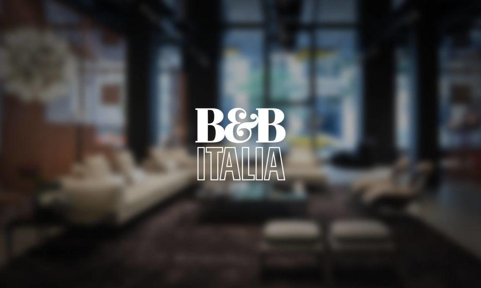 B&B Italia Website Banner Logo Design