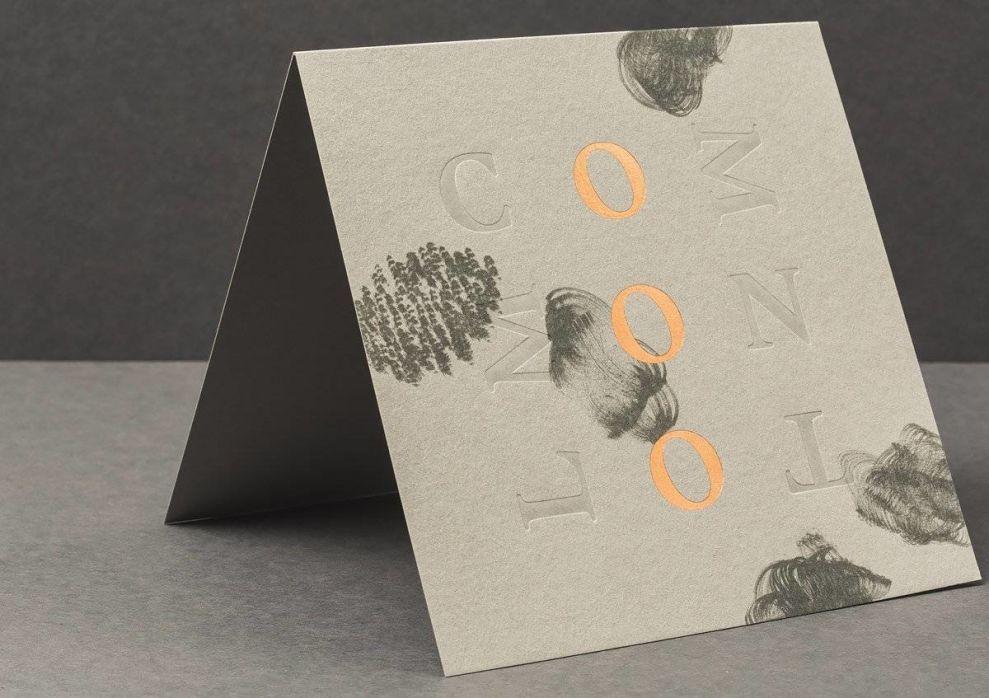 Common Lot Placecard Print Design