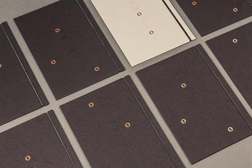 Common Lot Menus Print Design