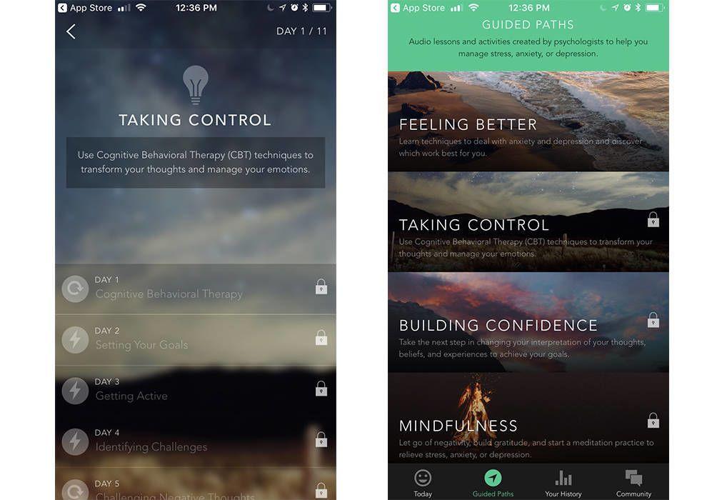 Pacifa App Features App Design