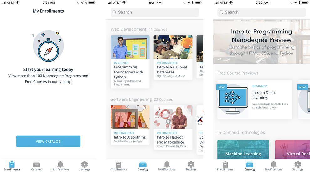 Udacity Clean App Design