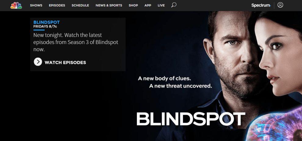 NBC Website Logo Branding
