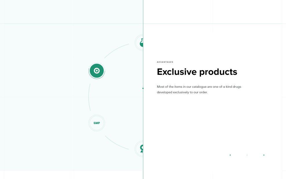 Eurovet About Page Website Design