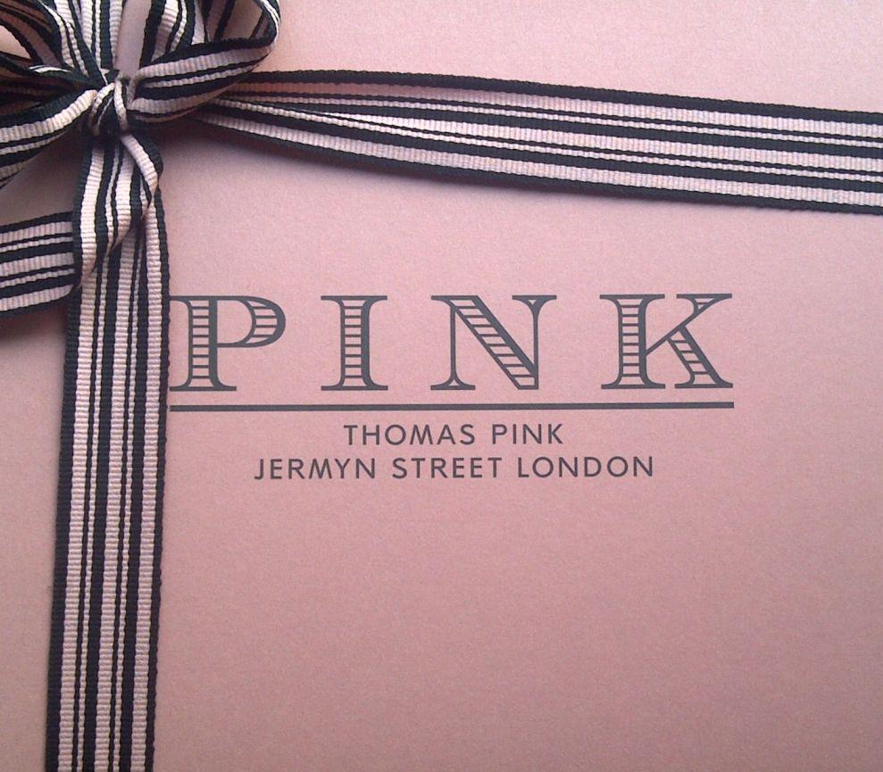Thomas Pink Package Logo Design