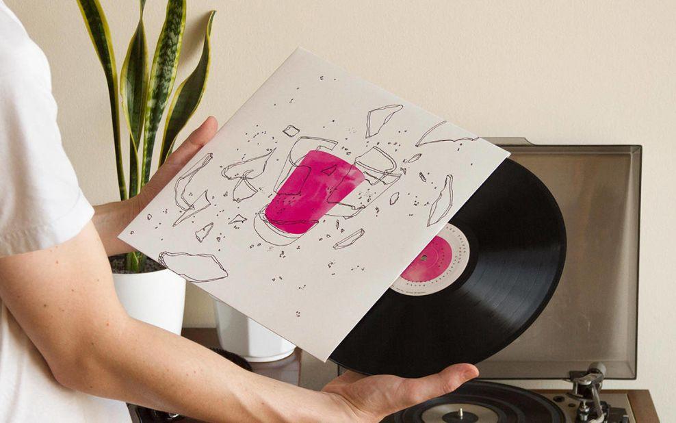 Relicários de São Tolosa Album Cover Print Design