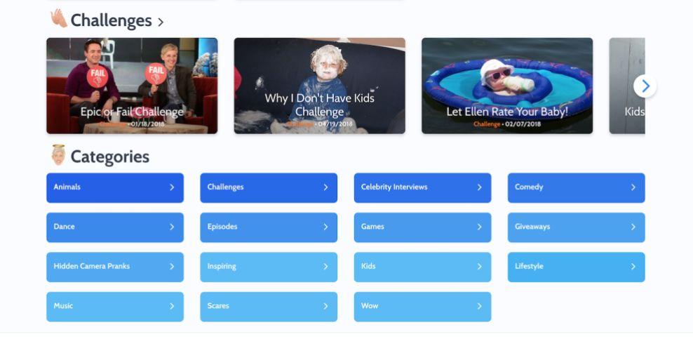 Ellentube Menus Website Design