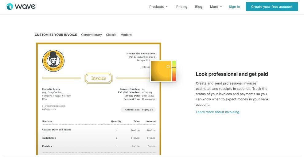Wave Apps Illustrations Website Design