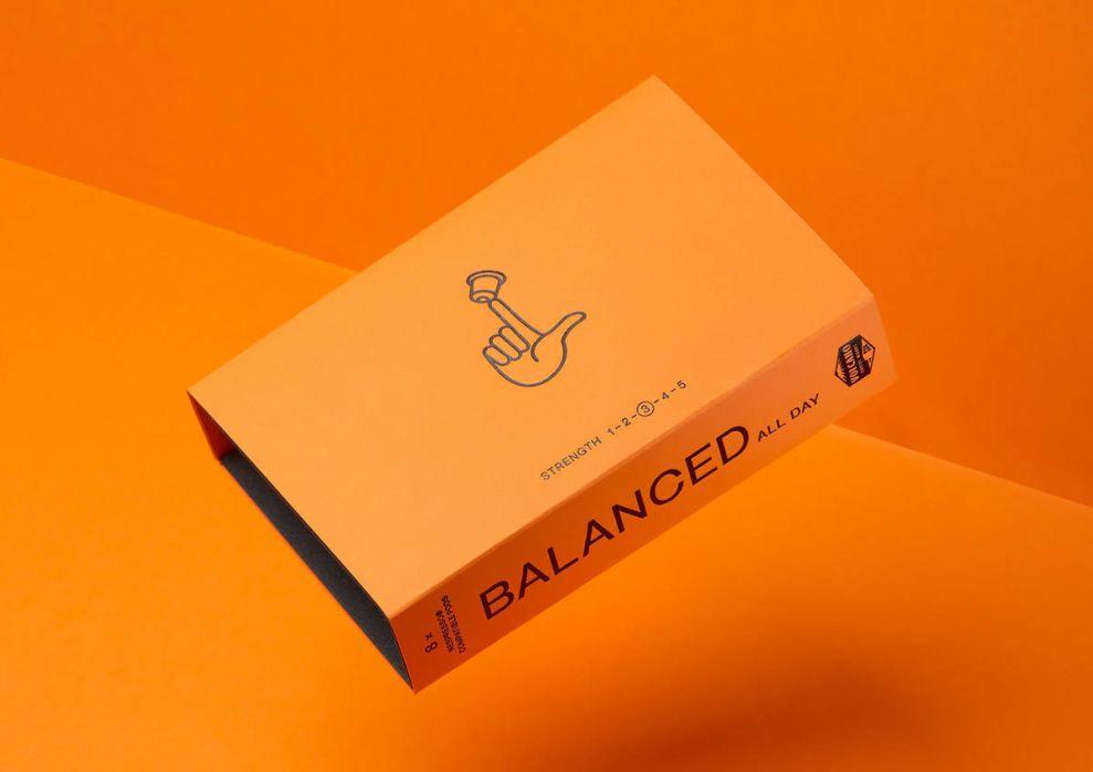 Volcano At Home Orange Package Design