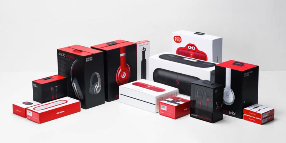 Beats By Dre Products Logo Design