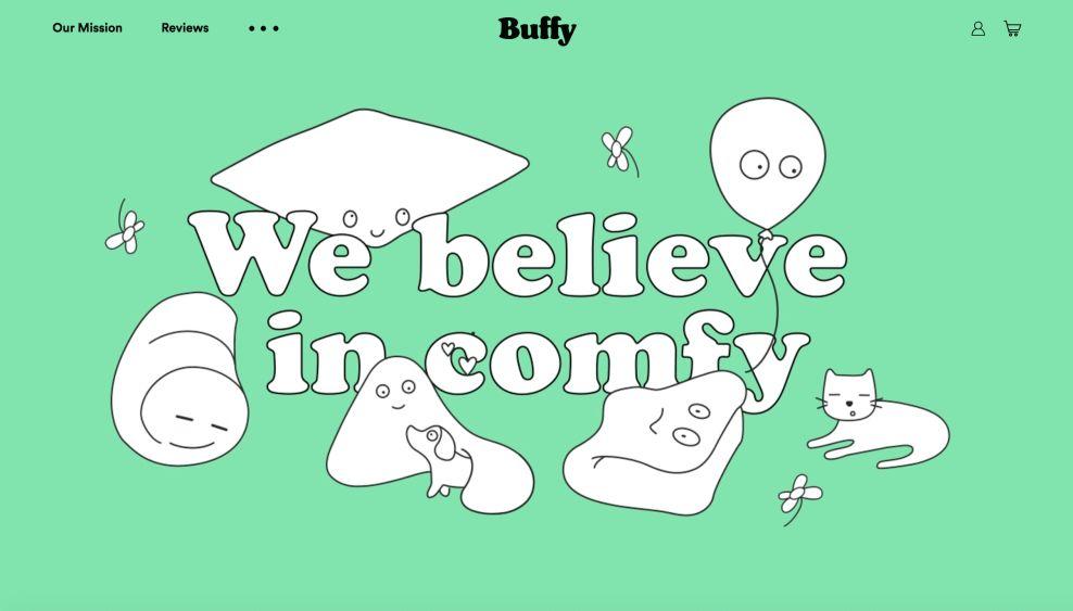 Buffy Animations Website Design