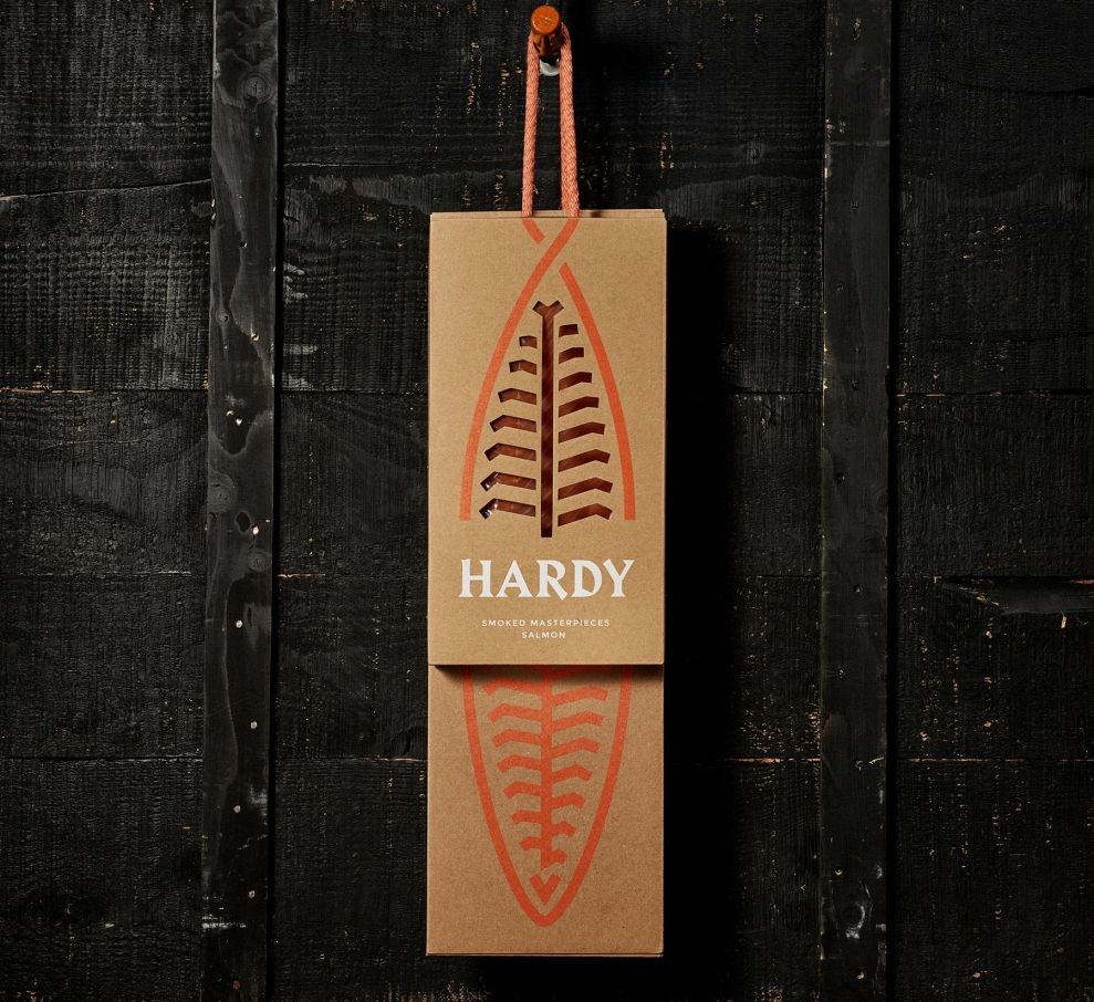 Hardy's Clean Package Design