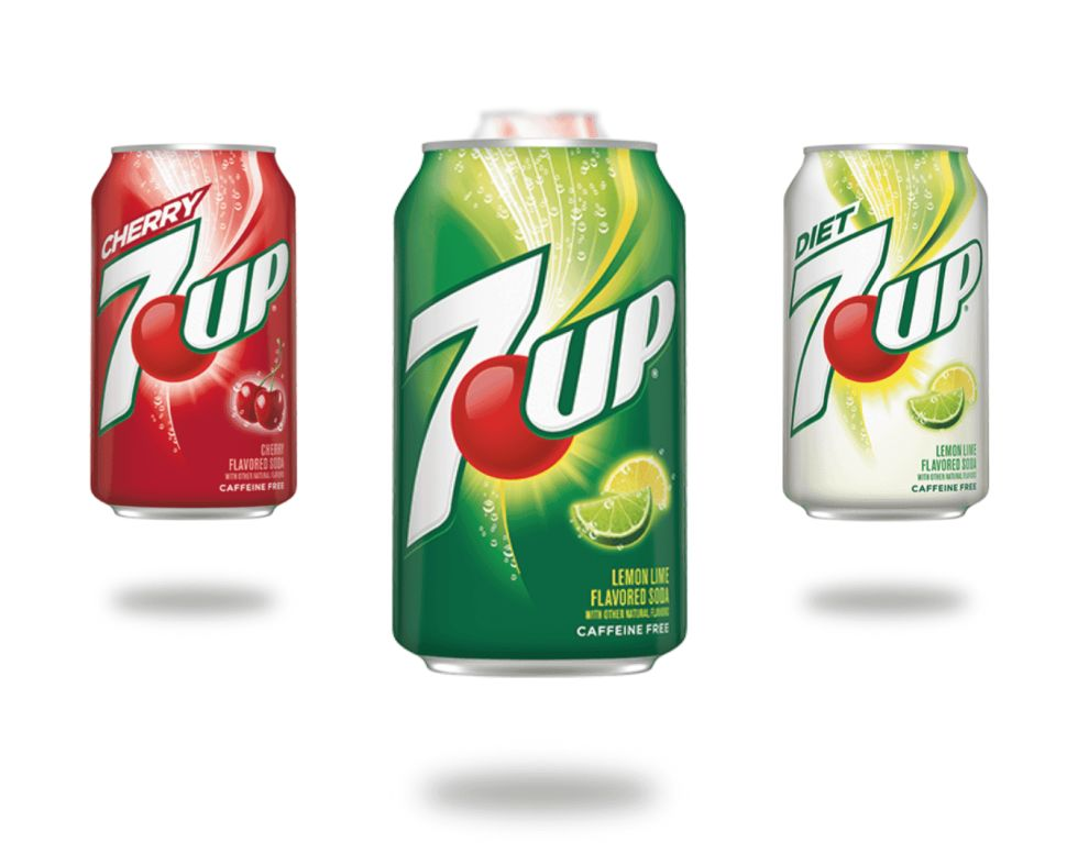 7Up Products Best Logo Design