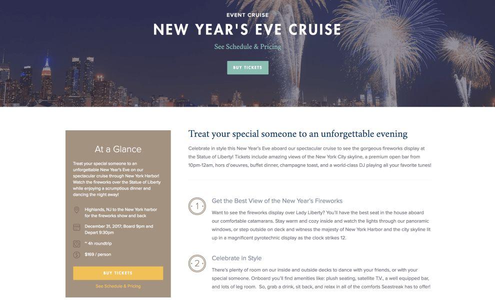 Seastruck Comprehensive Website Design