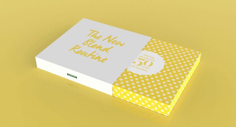 Klorane Bright Package Design
