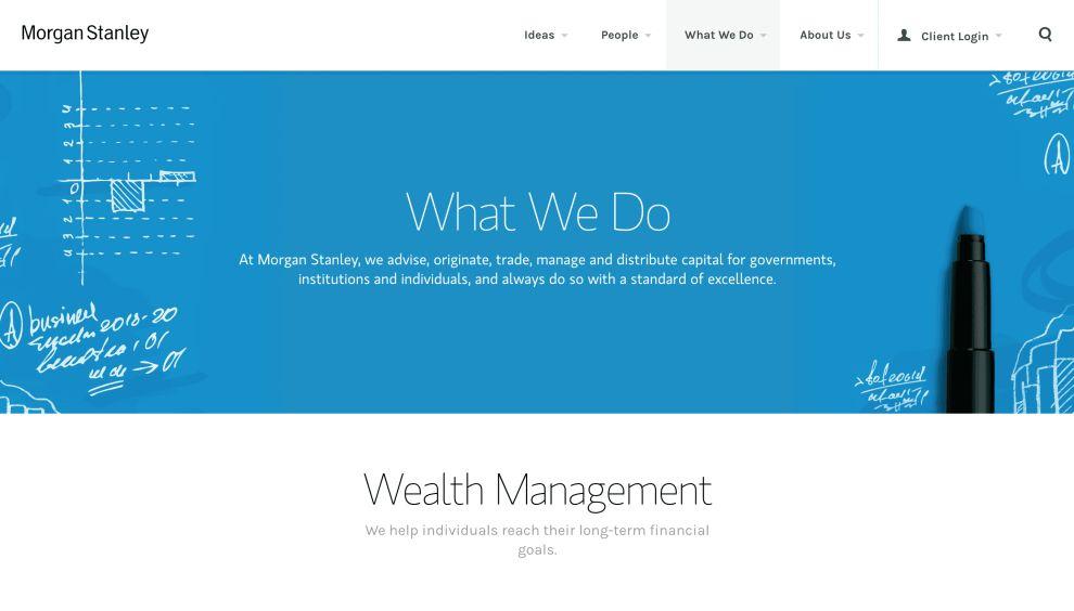 Morgan Stanley Best Website Design