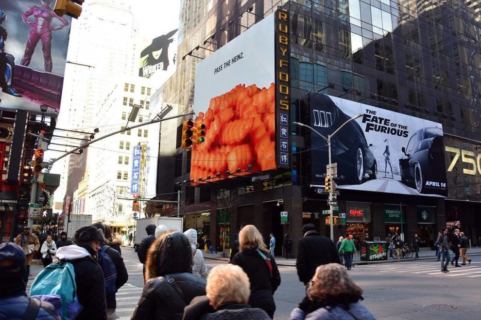 Heinz Billboard Print Desgn