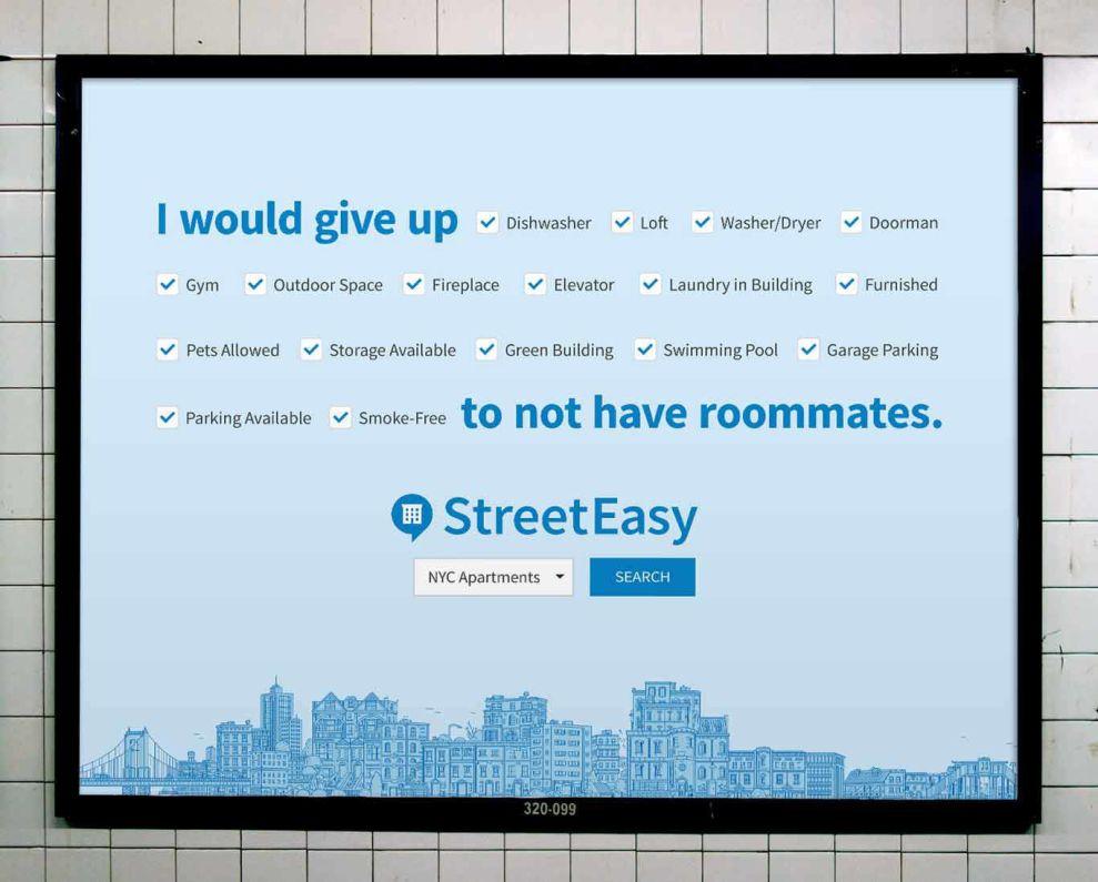 StreetEasy Clever Print Design