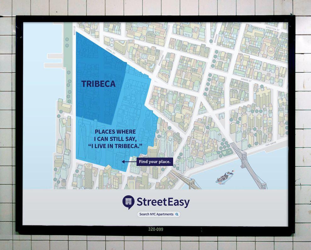 StreetEasy Engaging Print Design