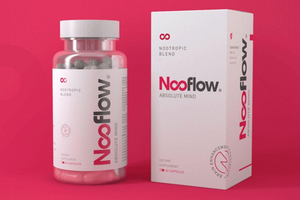 Nooflow Products Logo Design