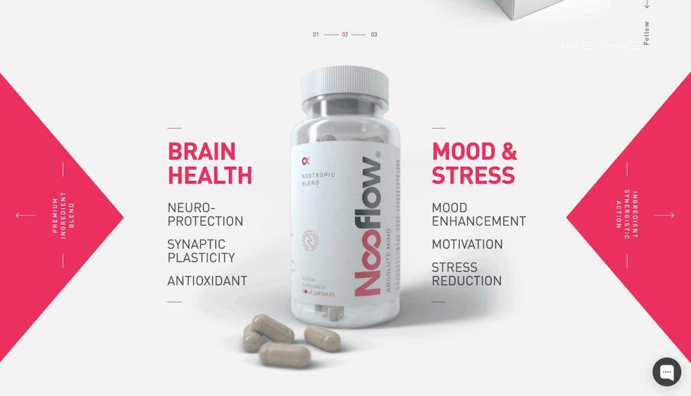 Nooflow Website Logo Design