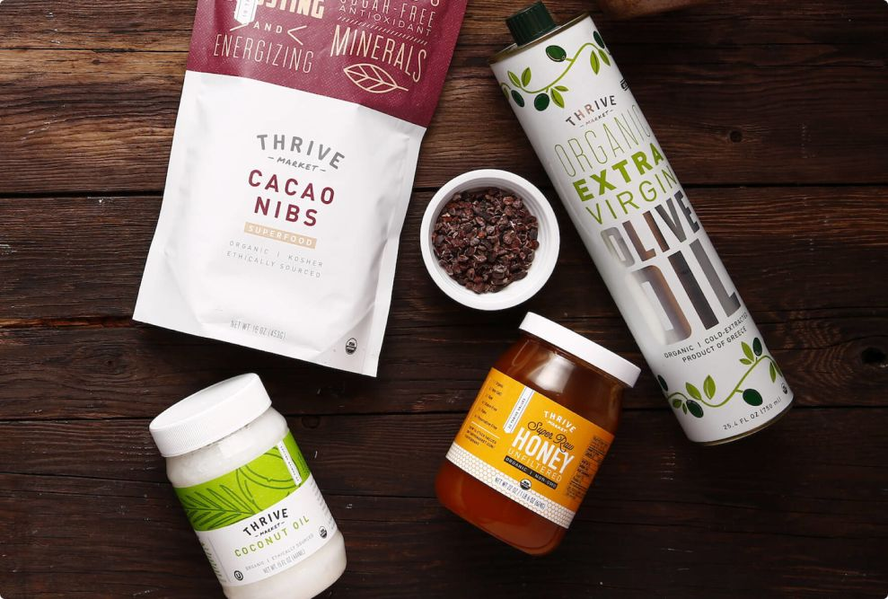 Thrive Market Superfood Packaging