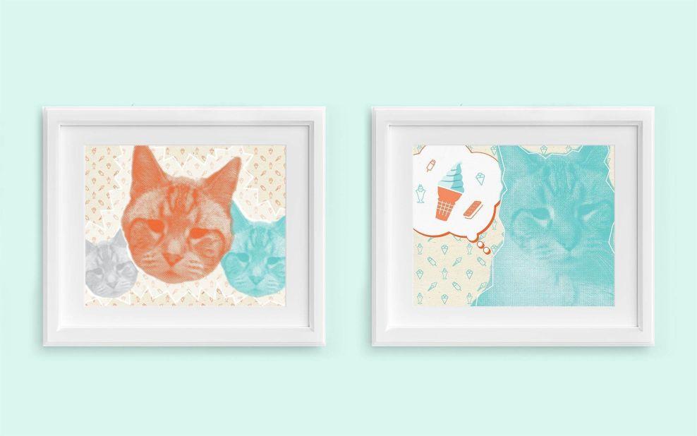 Fat Cat Creamery Best Print Design
