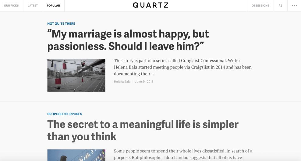Quartz Best Website Design