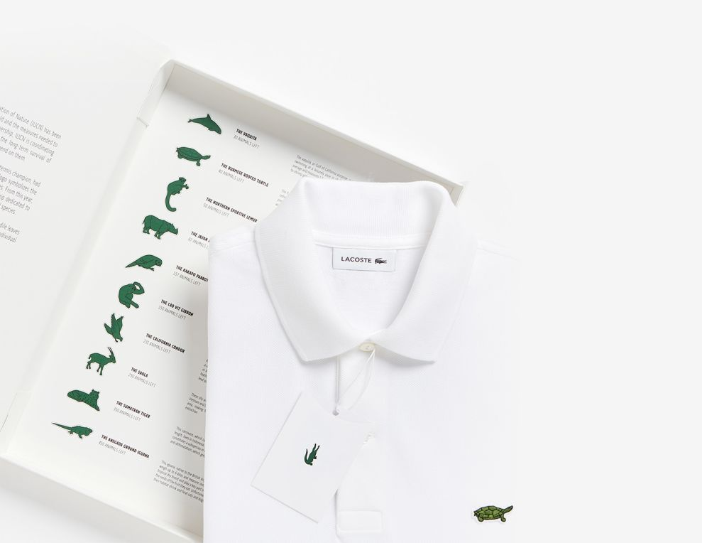 Lacoste Limited Edition Logo Design