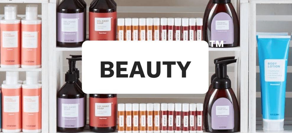 Brandless Beauty Package Design