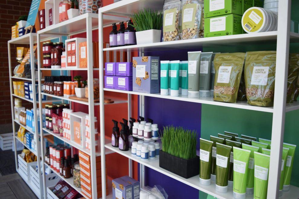 Brandless Shelves Package Design