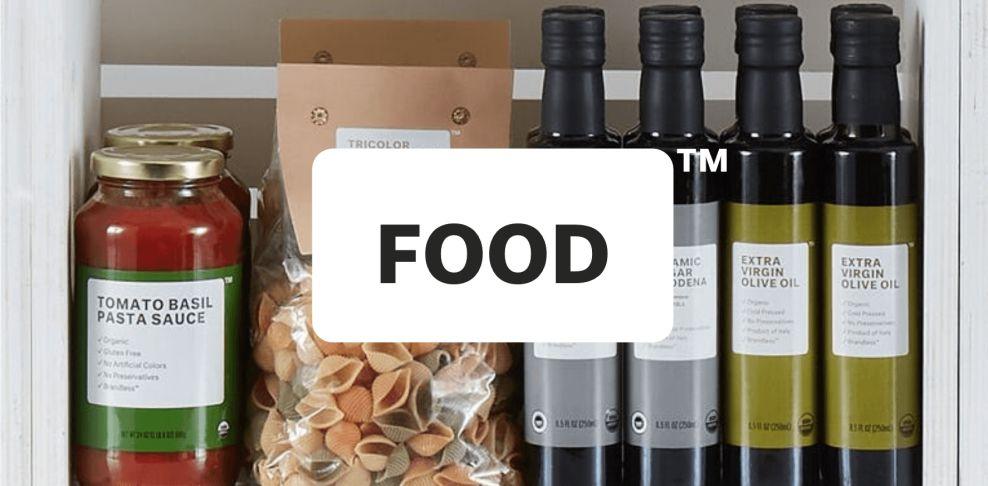 Brandless Food Package Design