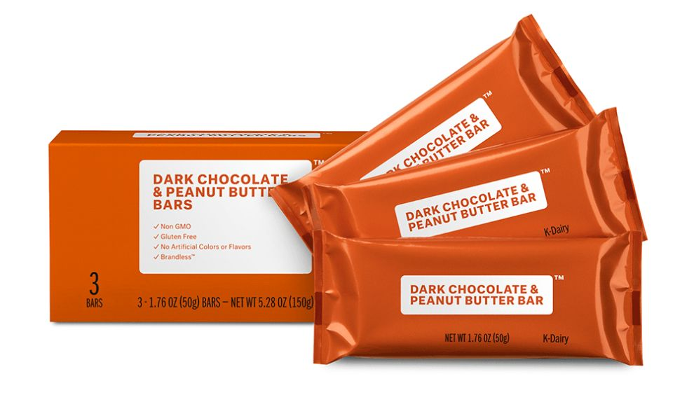 Brandless Bars Package Design